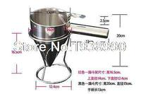 New Stainless Steel Conical Funnel With Shelf Octopus Fish Balls Tool