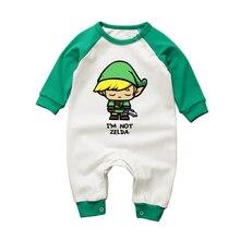 Г., модный Детский комбинезон с героями мультфильмов на возраст от 3 до 18 месяцев одежда с длинными рукавами для маленьких девочек Одежда для новорожденных мальчиков комбинезоны из хлопка