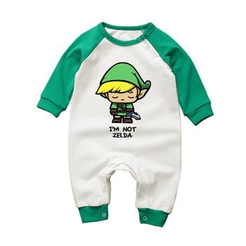 Barboteuse Bébé Coton Légende of Zelda Link Humour