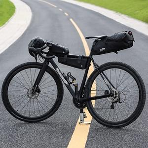 Image 5 - Rhinowalk 10L 13L Volledige Waterdichte Fiets Zadeltas Road Mountainbike Fietsen Rear Rack Bag Bagage Fietstas Fiets Accessoires
