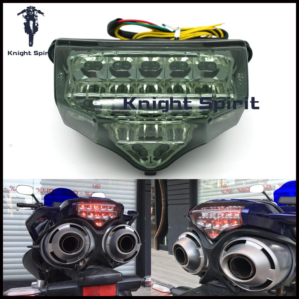 For Yamaha Fz6 Fazer 2004-2010 Integrated Motorcycle Accessories LED Tail Light Brake Light Turn Signal Lamp Blinker
