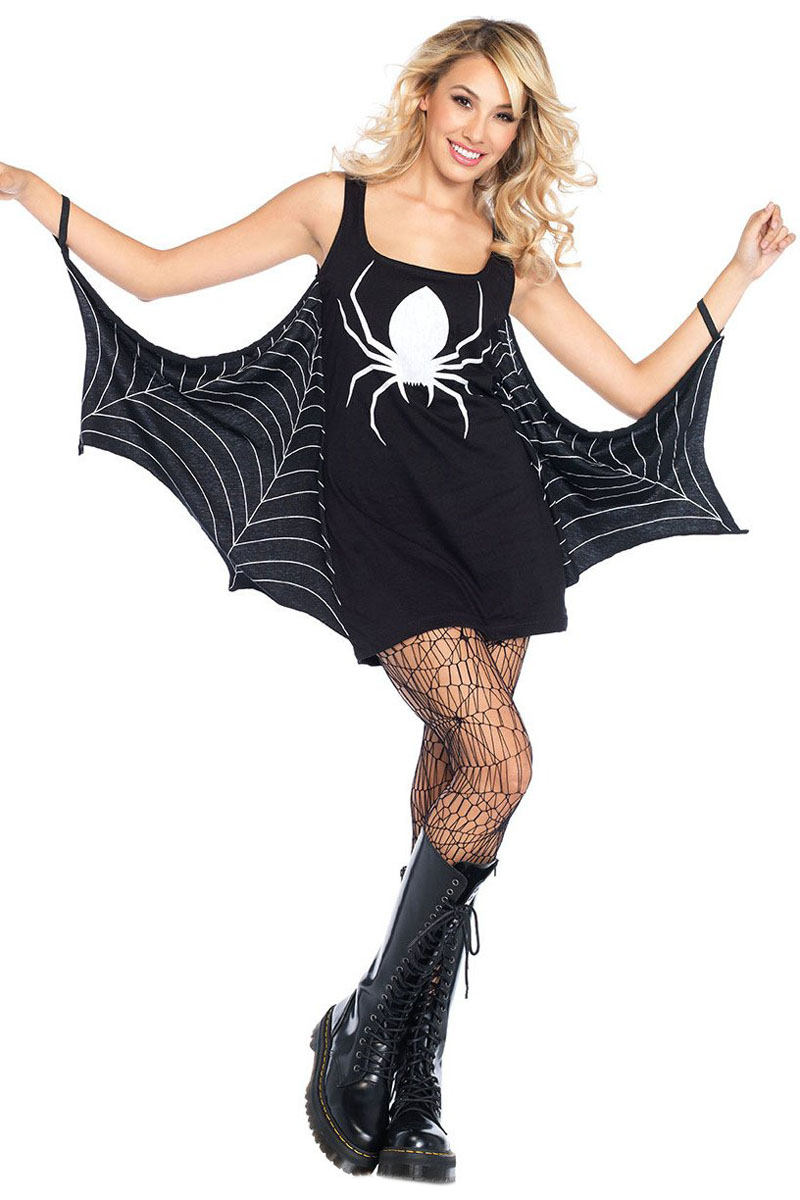 Spider Costume For WomenSpider Costume AdultSpider Halloween Costume  sc 1 st  AliExpress.com & Free Shipping Spider Costume for Women 3S89050 2 Adult Halloween ...