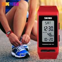 Популярные женские часы шагомер светодиодные цифровые уличные