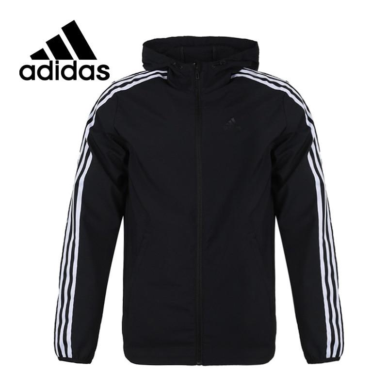 Original New Arrival Adidas WB CLASSIC 3S Men s jacket Hooded Sportswear