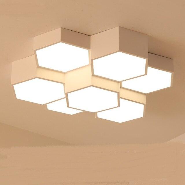 Moderne Einfache Wohnzimmer Deckenleuchte Led Schlafzimmer Lampe Honeycomb  Esszimmer Lampe Raumleuchte RoomCeiling Lichter TA91917