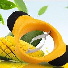 1 шт. из нержавеющей стали нож для манго резка для манго фрукты режущие приспособления Кухня приспособления кухонные аксессуары ок 0470