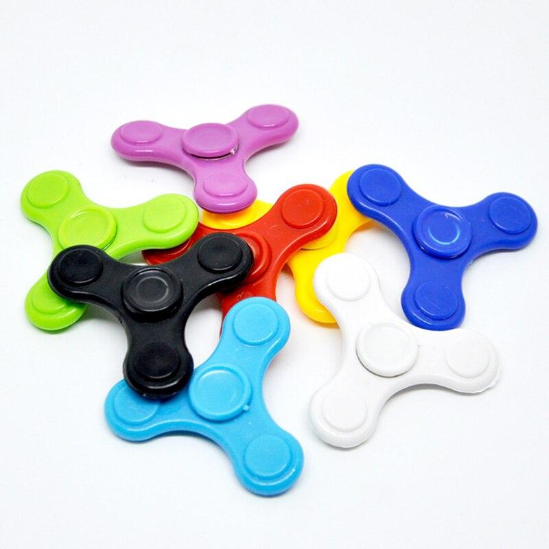 20PCS/Mini Fidget Hand Spinner For Adults Children Anti Stress Focus Gyro Finger Gyroscope Children Funny Leaf Toys Kids Gift
