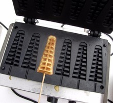 цена на Free shipping~Electric 110V with recipe tree shape of  lolly waffle maker/ egg waffle machine, fast shipping and delivery time