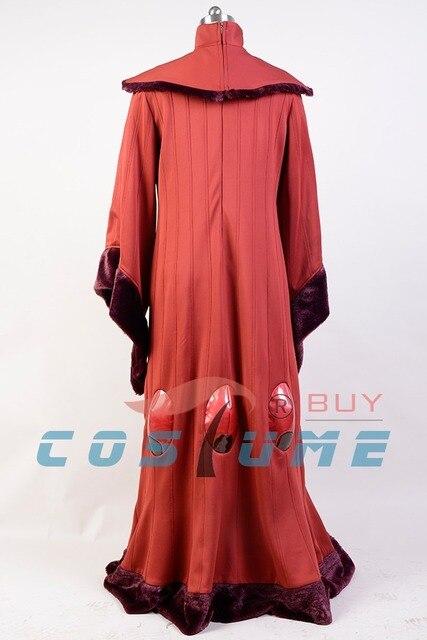 Star Wars Costume Star Wars Phantom Menace Queen Padme Amidala COSplay Costume Outfit Adult Halloween Costume Customized 4