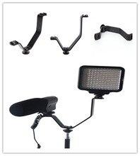 13*9.5*3cm dupla sapata v suporte de montagem em câmeras filmadoras para luzes de vídeo microfones monitores