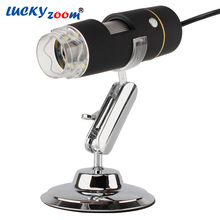 500x New USB High Definition Digital Microscope Camera Measurement Instrument Electronic Magnifying Glass OTG Android Hot Sale