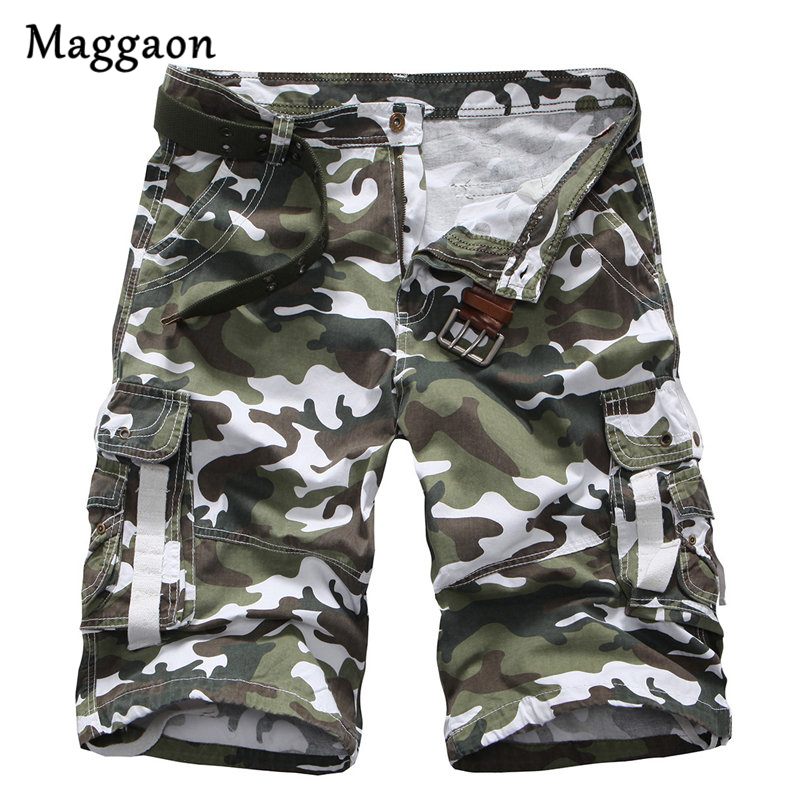 Summer Mens Military Cargo Shorts 2018 Brand New Army Camouflage Shorts Men Cotton Loose Work Casual Short