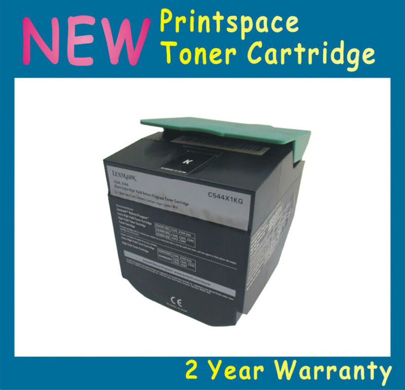 NON-OEM Toner Cartridge Compatible For Lexmark C540 C540N C543 C544 C546 X543 X544 X546 X548 Free shipping