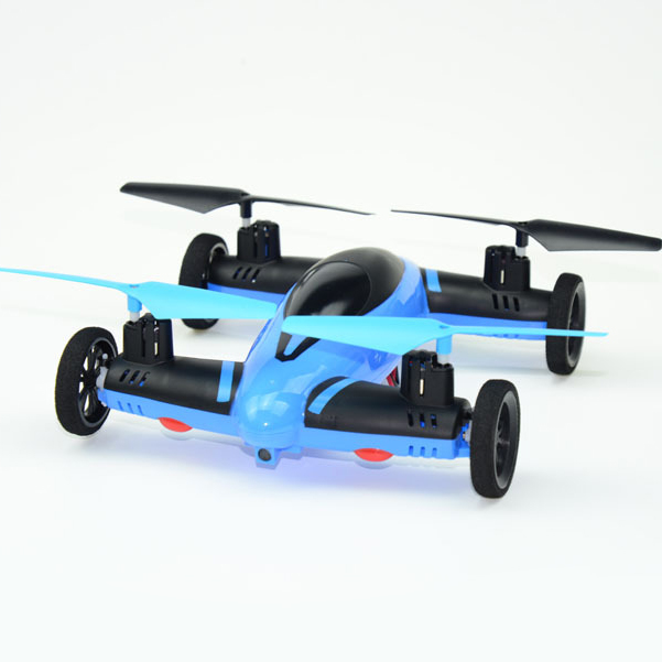 2.4G 4CH 6-Axis RC Quadcopter Drone RC Car And Helicopter With Plane Safeguard x Air-ground amphibious Remote control toy free shipping 2 4g 6 axis syma x9 quadcopter rc helicopter drone air ground amphibious remote control car vs smya x5c x5sw cx10w