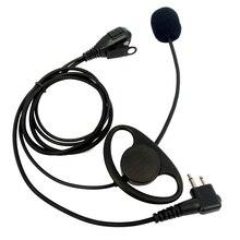 2 Pin PTT Динамик Micphone Stick микрофон для Motorola радио CP140 CP180 CP185 CP200 CP300 CLS1450 EP450 GP88 GP300 портативной рации