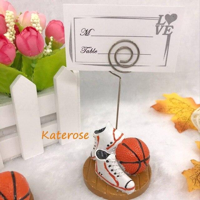 100pcslotfree Shippingbasketball Design Place Card Holderphoto