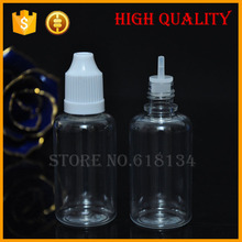 Free shipping Wholesale 2500pcs 30ml plastic dropper bottles With Childproof Cap With Long Thin Tip, plastic bottles