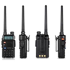 Image 2 - BF UV5R Walkie talkie Manual Frequency Modulation 10KM Communication Distance 5W Power UV Dual frequency Security Walkie Talkie