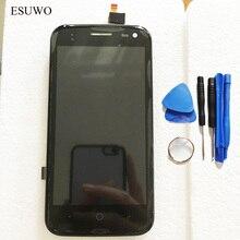 Esuwo ЖК-дисплей Дисплей сборки для ZTE Blade Q lux qlux 4 г 3 г Сенсорный экран ЖК-дисплей Экран дисплея планшета Сенсор с рамка + Инструменты