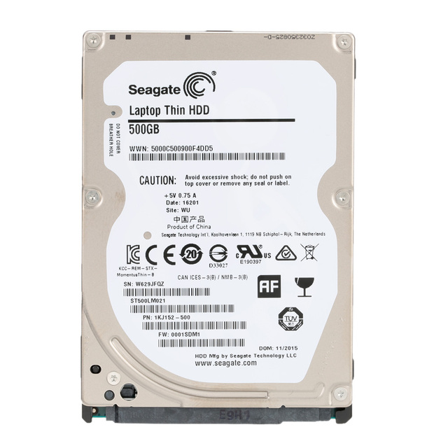 Seagate 500G Laptop Internal HDD Notebook Hard Disk Drive