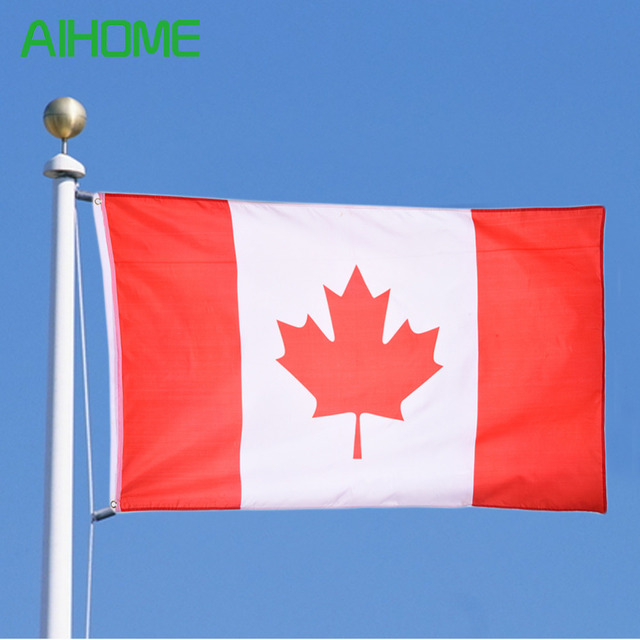 new 90x150cm canadian flag canada national country hanging flag