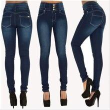 467f4be2050 Sexy низкой талией джинсы женщина Персик Push Up бедра узкие джинсовые брюки  для Для женщин Boyfriend Jean для Для женщин эласти.