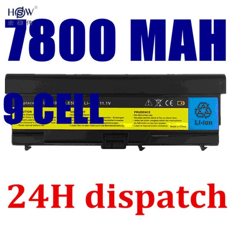 HSW 9cell Battery For Lenovo ThinkPad Edge E40 E50 L410 L412 L420 L421 L510 L512 L520 SL410 SL510 T410 T420 T510 T520 W510 W520 цена