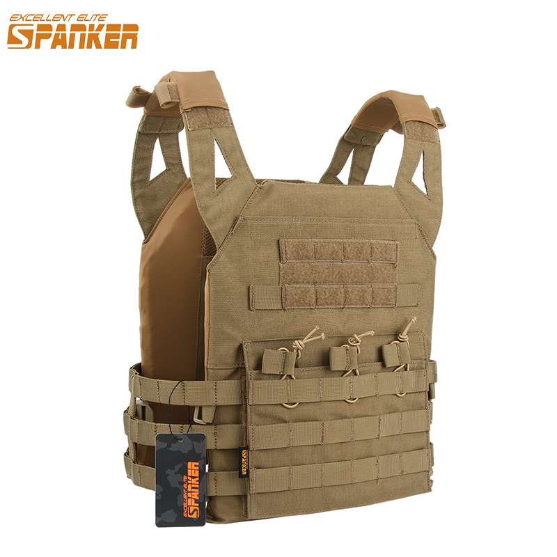 EXCELLENT ELITE SPANKER Outdoor Molle Hunting Vest Clothes Military Nylon Tactical Vest JPC Jacket Series Tactics CS Vests excellent elite spanker tactical molle chest strap vest detachable chest rig outdoor military hunting nylon sling vest equipment