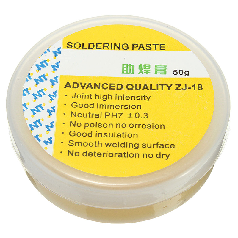 Free Shipping Solder Flux Soldering Paste NT ZJ-18 50g Advanced Quality