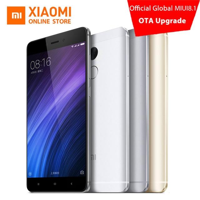 Xiaomi Redmi 4 Pro Prime 3GB RAM 32GB ROM Mobile Phone Snapdragon 625 Octa Core CPU 5.0″ FHD 13MP Camera 4100mah MIUI8