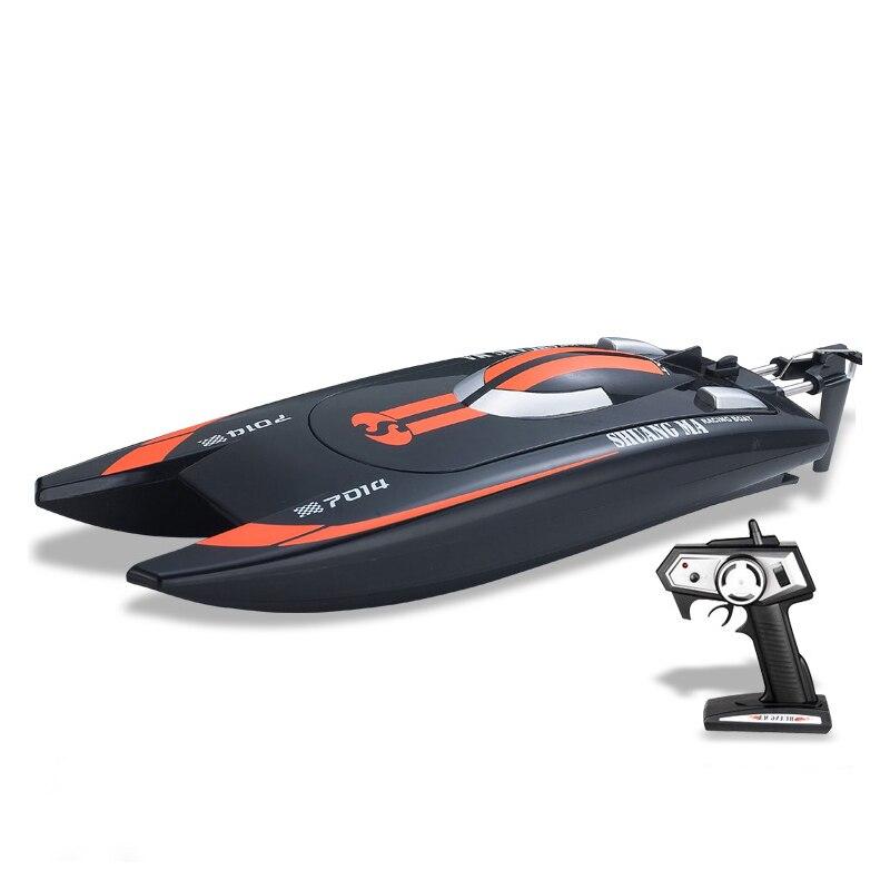 25 км/ч высокоскоростной пульт дистанционного управления rc лодка DH7014 гоночная лодка rc электрический скоростной катер р/у с супер водяным охлаждением мотор водонепроницаемый
