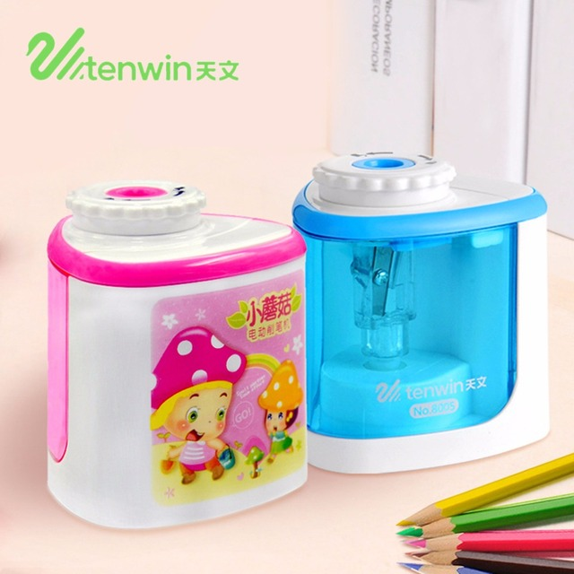 TENWIN 8005 Desktop Electric Pencil Sharpener Stationery Home Office School Supplies Accessories