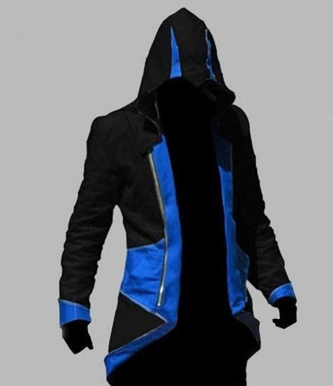 Assassins Creed Costume Cosplay Conner Kenway Hoodie Jacket Tracksuit Novelty Sweatshirt Hoody Plus Size Cloak Jacket Men  3