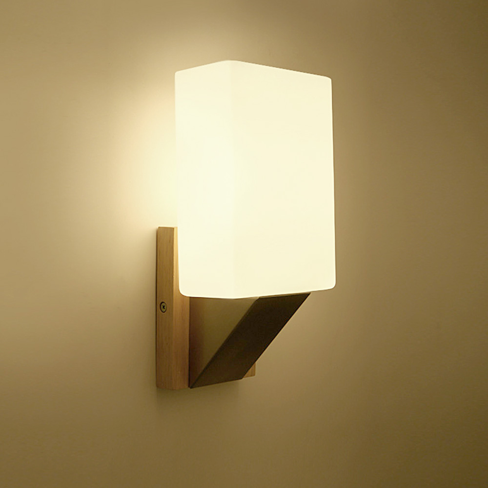 Modern wall lights for living room - Modern Wall Lamps Sconces Living Room Wooden Restaurant Bedroom Decorative Wall Lights Lamparas Home Lighting Fixture