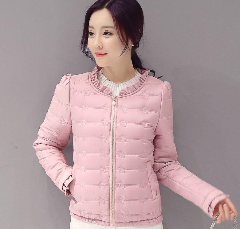 HCBLESS 2018 bomber jacket women Autumn Winter Jacket Women chaquetas mujer abrigo chaqueta Long Sleeve   Parka   Filler Cotton