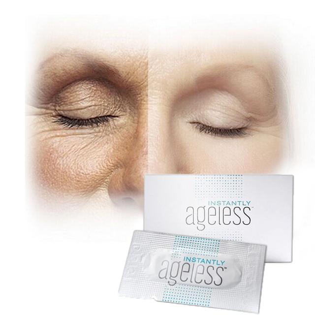 100pcs/lot Jeunesse Instantly Ageless Anti-aging Anti Wrinkle Eye Cream Argireline Face Lift Serum Fast Effective Bag Remove