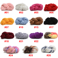 Big Thick 250g Roll Baby Knitting Needle Wool Woolen Yarn Knitting Yarn DIY Handwork Wool Yarn