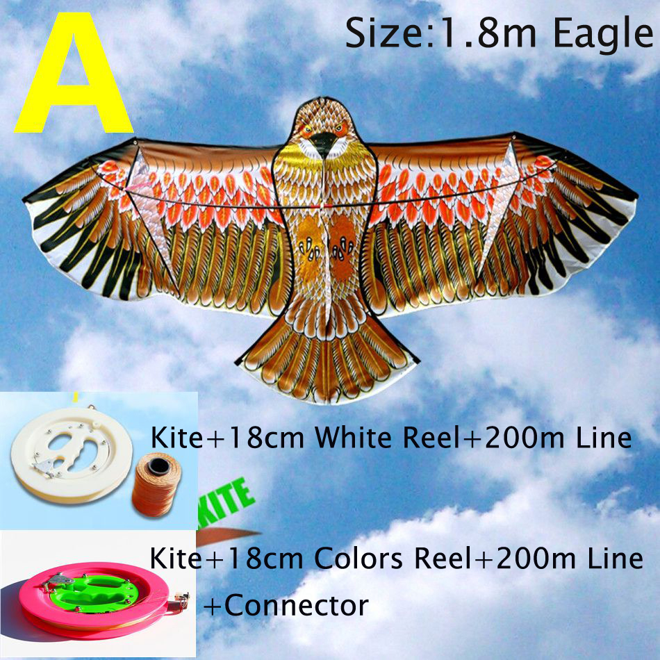 free shipping high quality large eagle kite children kites wholesale ripstop nylon fabric power kite parafoil factory superman
