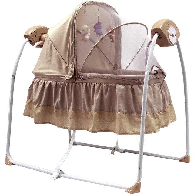 2016 новорожденных электрический беспроводной пульт дистанционного управления музыкальный вышибала ребенком деятельность продукта вибрационный качалка сиденья колыбель качели