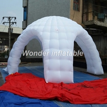 5m cheap small inflatable party tent,inflatable white dome tent for sale