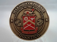 Custom coins hot sales USMC Challenge Coin Marine United States Corps Military High quality oem metal coins  FH810199 united states marine corps u s marine corps staff warfighting