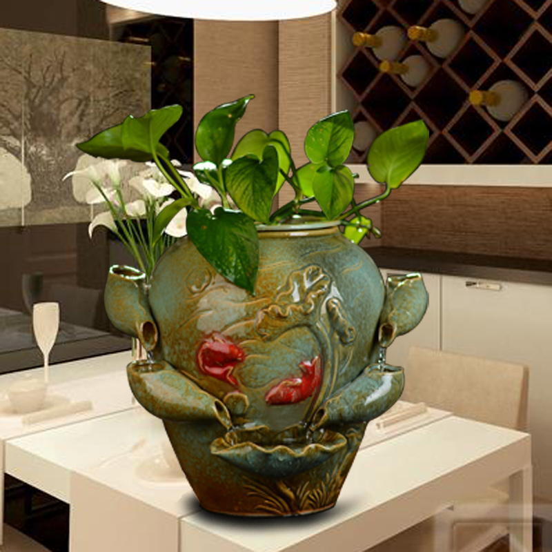 Ceramic bonsai plants indoor hydroponic desktop decoration creative ceramic bonsai plants indoor hydroponic desktop decoration creative living room humidifier water fountain feng shui ornaments on aliexpress alibaba workwithnaturefo
