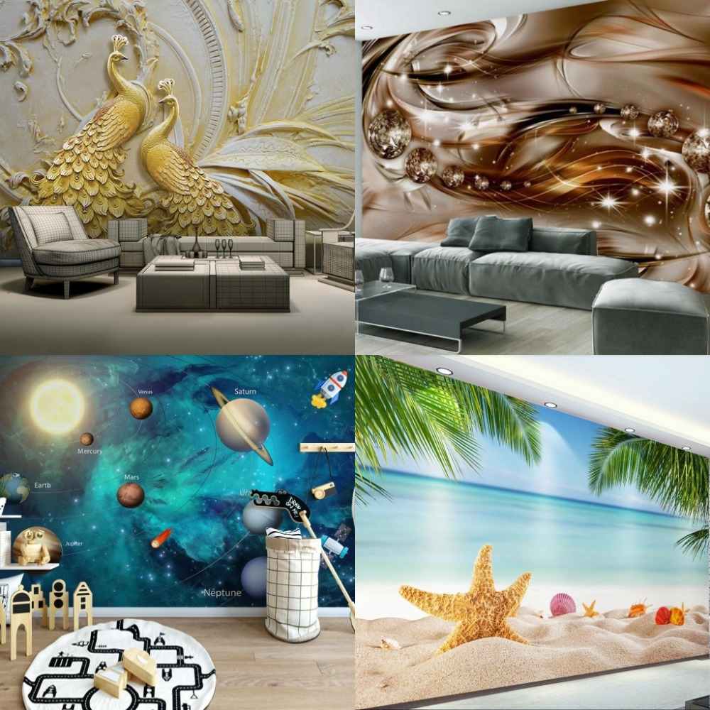 US $2.95 41% OFF|beibehang sale HD Mural photo design document Sale  television TV background decoration floor design drawings Home  decoration-in ...