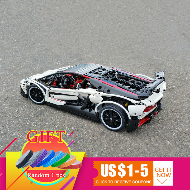 23006 2838Pcs Genuine MOC Technic Series Set The Hatchback Type R Building Blocks Bricks Educational Toys Model Boy Gifts Lepin new lepin moc creative series the assembly square set building blocks bricks boy toys compatible educational figures model gifts