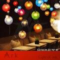 Ковчег свет Лофт американская старая мебель Ностальгический Винтаж 1 шар пузыря LED подвеска для балкона прохода прихожей столовой