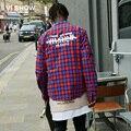 VIISHOW Novo Mens Vestido de Camisa Xadrez Mens Camisas de algodão Slim Fit homens do desenhador camisas de manga comprida casual camisas botão para baixo para homens