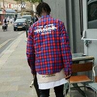 VIISHOW New Mens Dress Shirt Mens Plaid Shirts Cotton Slim Fit Designer Men Shirts Long Sleeve