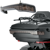 Tour Pack Decoration LED Tail Running Brake for Touring Road King Turn Signal Light Electra Glide Smoke Lens 2014 2018