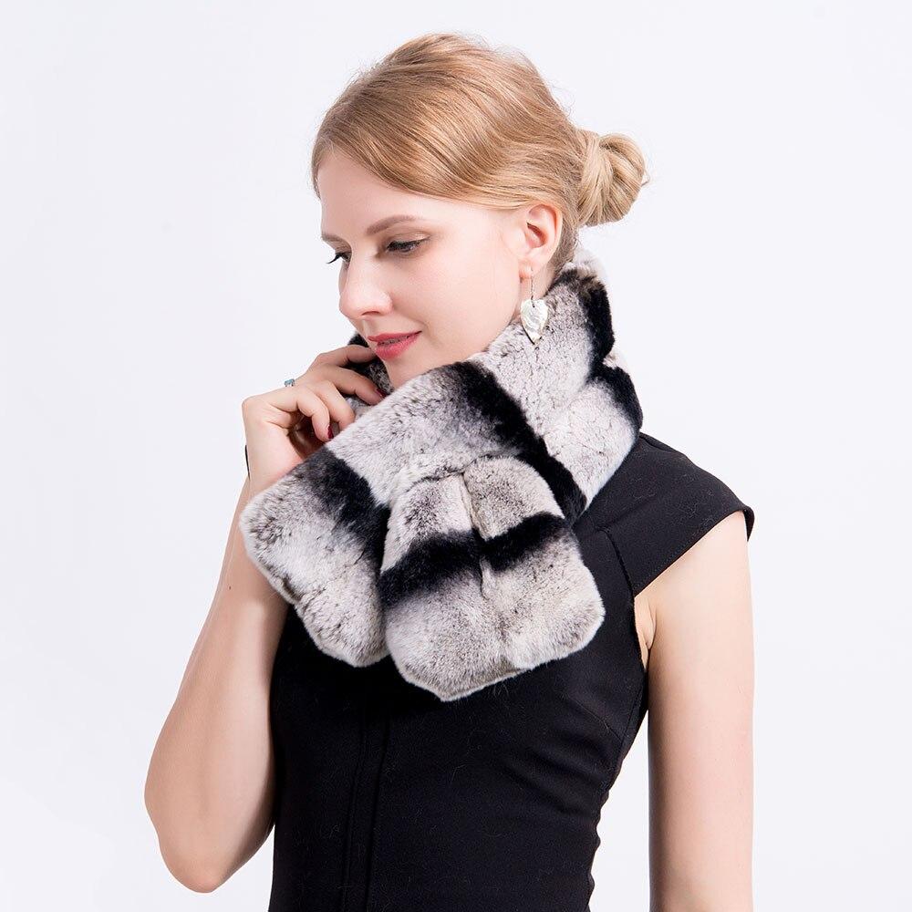 chinchilla fur scarf 3