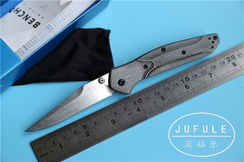 JUFULE OEM Benchmake 940 943 S90v Axis folding carbon fiber Copper washer font b hunting b